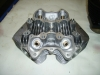 cylinder head tr6r 650- single  carb